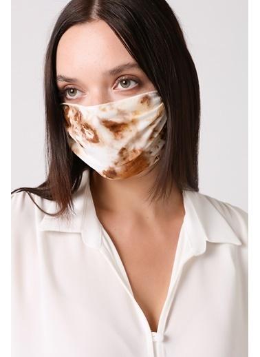 Gusto Kadın Sarı Viskon Maske 21K5372100 Bej